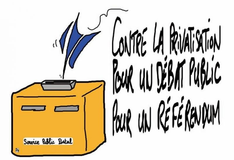 Non à la privatisation de la Poste dans Politique Nationale laposte