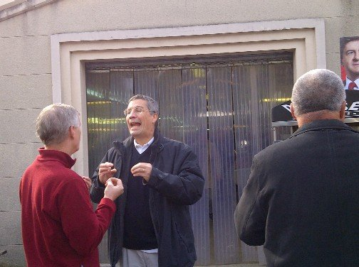 La campagne des présidentielles à Villemomble dans Bétisier du Maire de Villemomble Gagny-20120414-00072