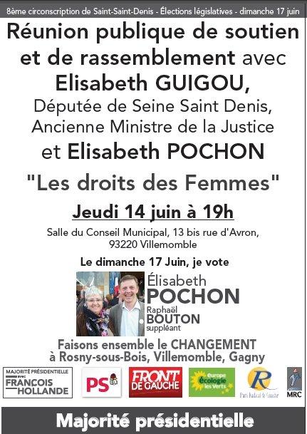 Villemomble, jeudi 14 juin rencontre avec Elisabeth Guigou et Elisabeth Pochon dans Actualité du parti Guigou14062012