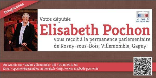 Elisabeth Pochon, inauguration de la permanence de la députée de Villemomble, Gagny, Rosny dans actualité locale inaug1