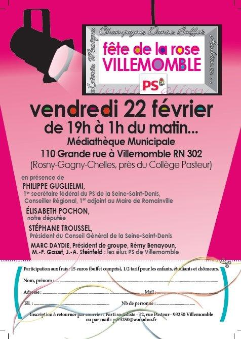 Villemomble : Fête de la rose le 22 février 2013 dans Actualité du parti invitation-2013
