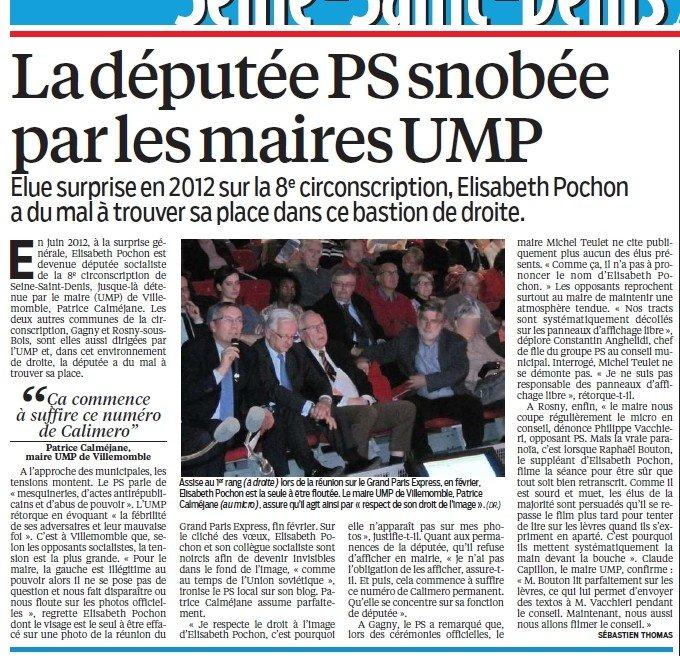 Villemomble : Patrice Calméjane reconnait qu'il efface les élus de l'opposition ! dans actualité locale parisien_16_05_13