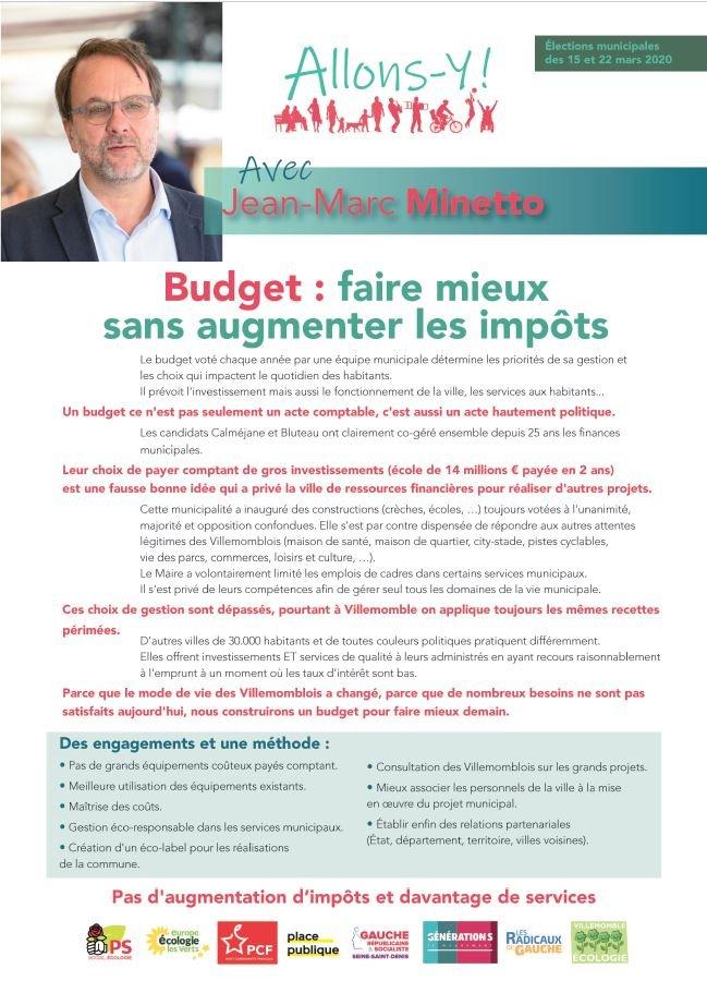 finances et services Recto