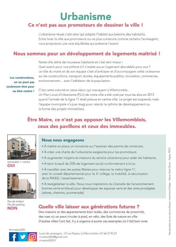 securité urbanisme verso